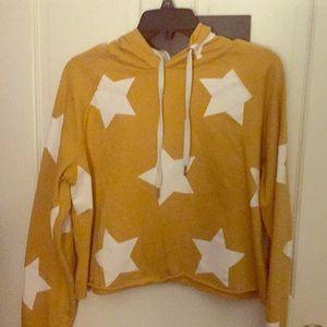 crop star hoodie